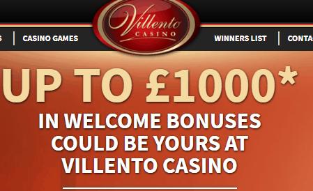 villento casino front image