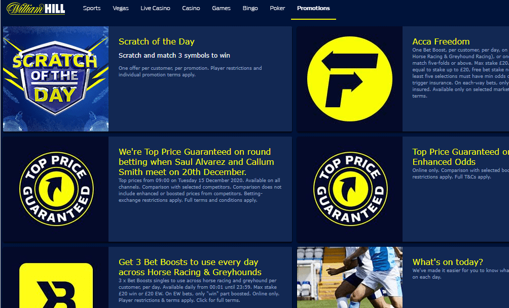 williamhill promotions