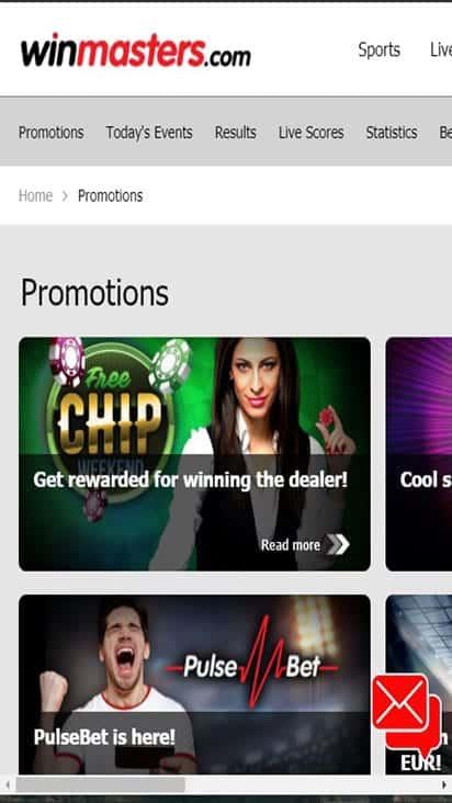 win masters promo mobile