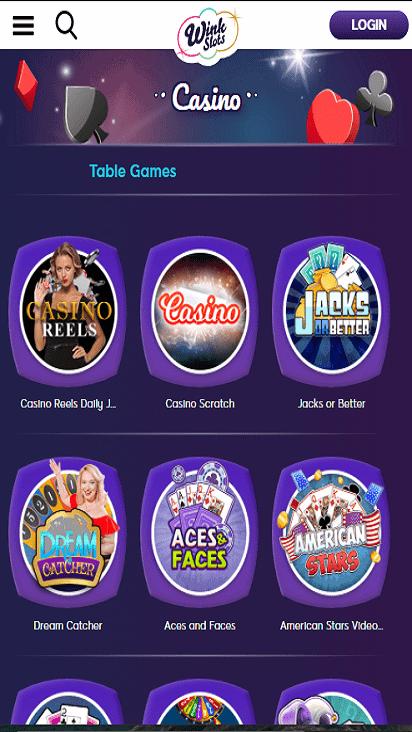 wink slots game moible