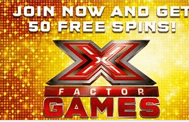 xfactor games front image