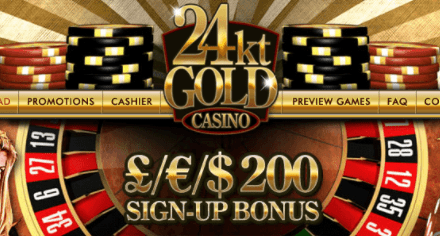 24k gold casino front image