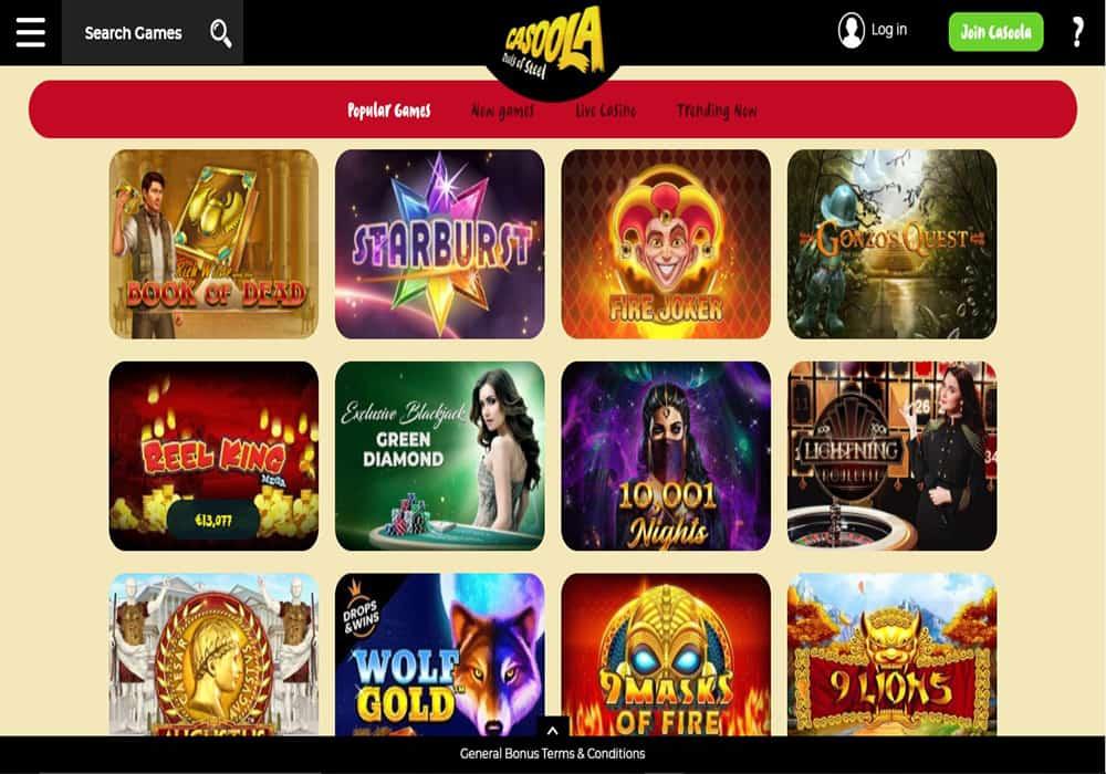 Vegas Hero games page