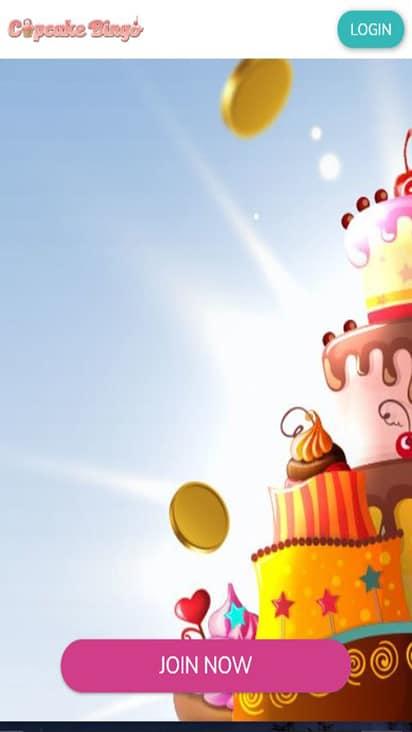 Cupcake Bingo home mobile
