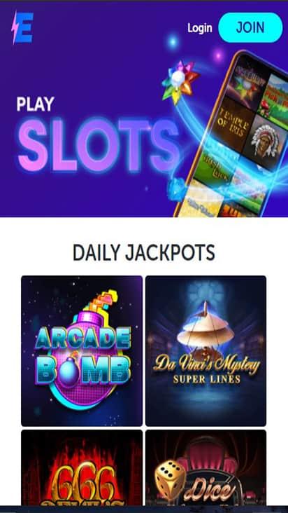 Island Jackpots game mobile