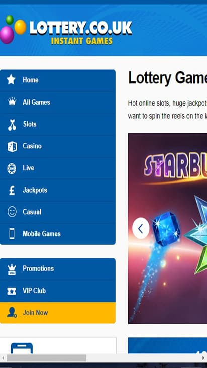 Lottery game mobile