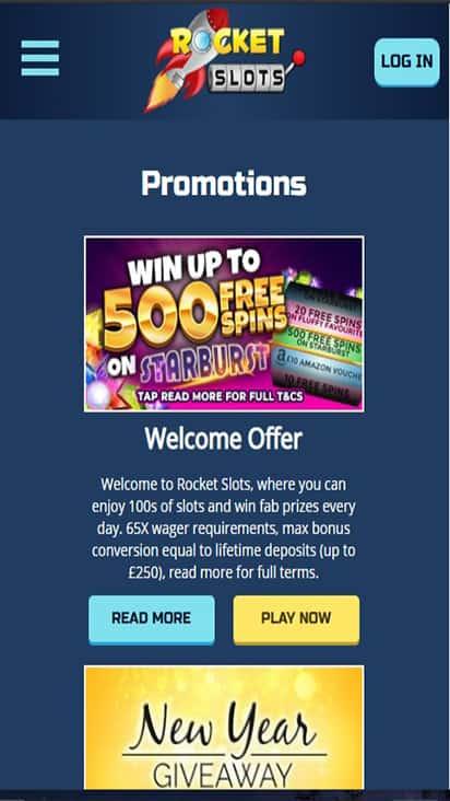 Pocket Fortune promo mobile