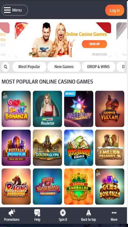 Poker NetBet game mobile