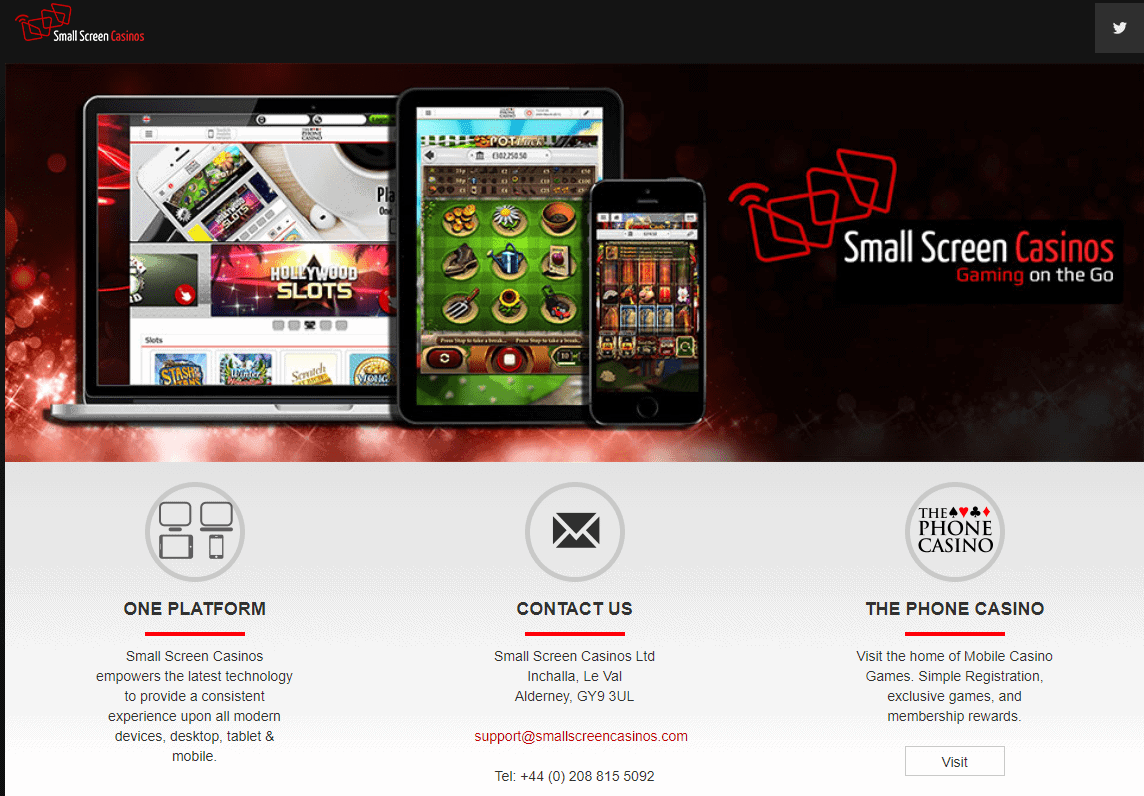 Red Seven Slots home redirection to small screen casinos
