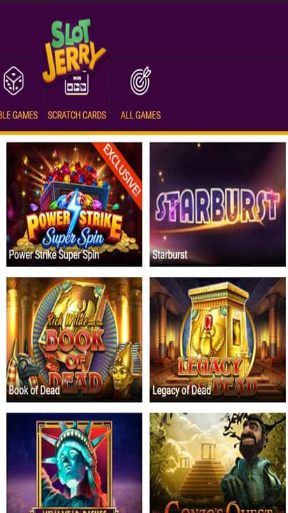 Slot Jerry game mobile