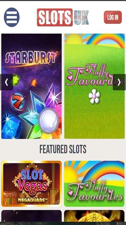 Slots UK game mobile