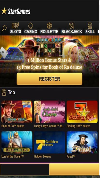Star Games home mobile