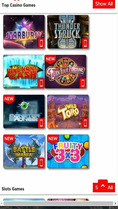 Summit Casino game mobile