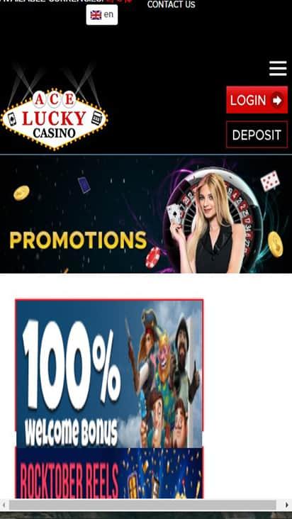 Summit Casino promo mobile