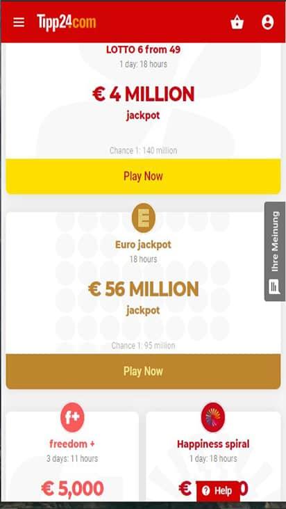 Tipp24 game mobile