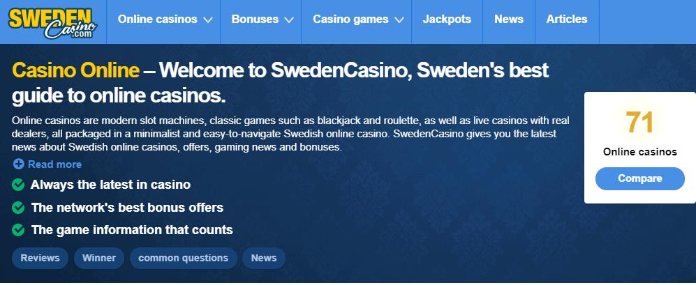aha casino home directed to swefencasino