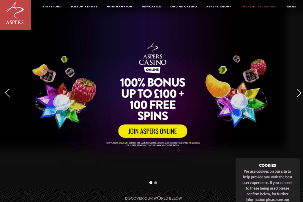 aspers casino front image