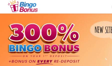 bingo bonus front image