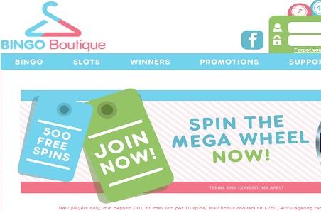 bingo boutique front image