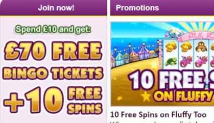 bright bingo front image