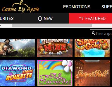 casino big apple front image