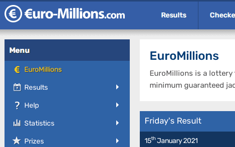 euromillions front image