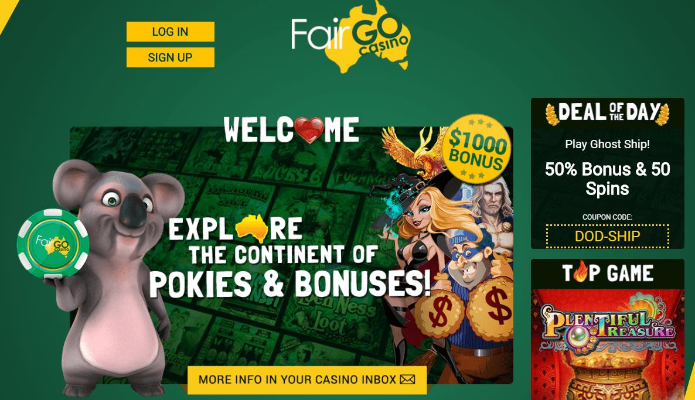 fair go casino home