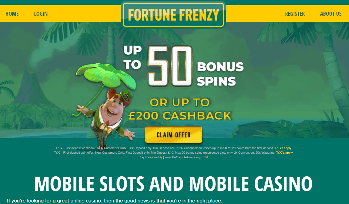 fortune frenzy home