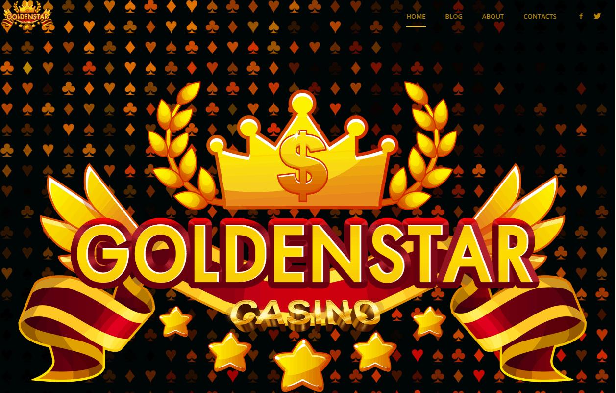 golden star casino home