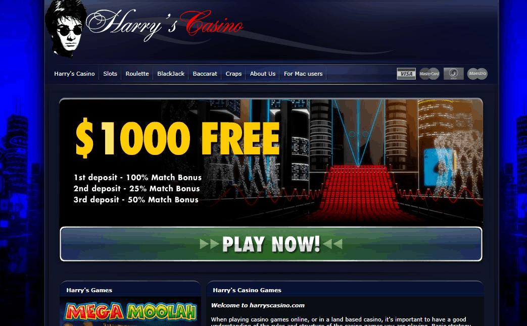 harry's casino home