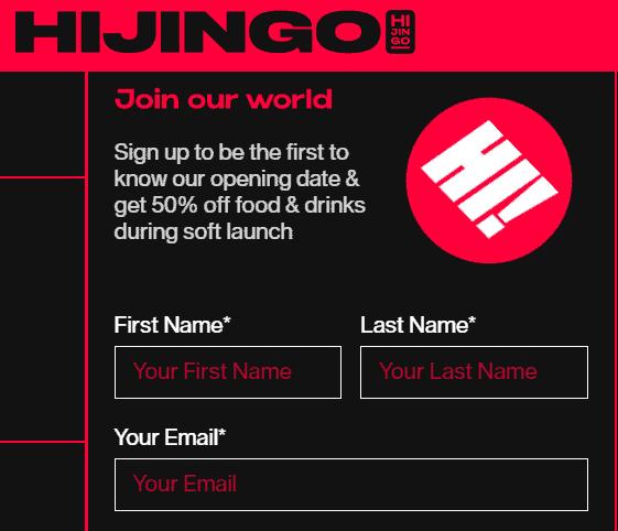 hijingo sign up