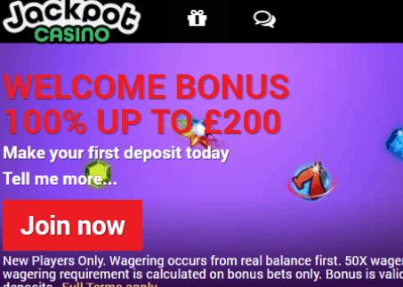 jackpot casino front image
