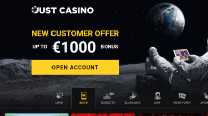 just casino front image