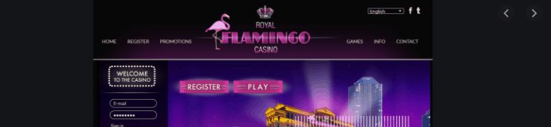 royal flamingo casino home