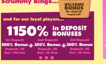 scrummy bingo front image new