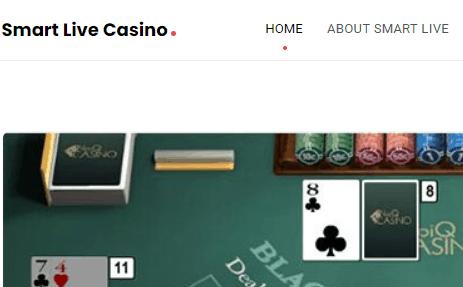 smart live casino front image