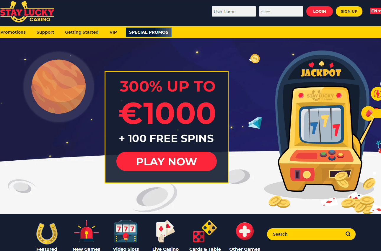 stay lucky casino home