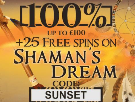 sunset casino front image