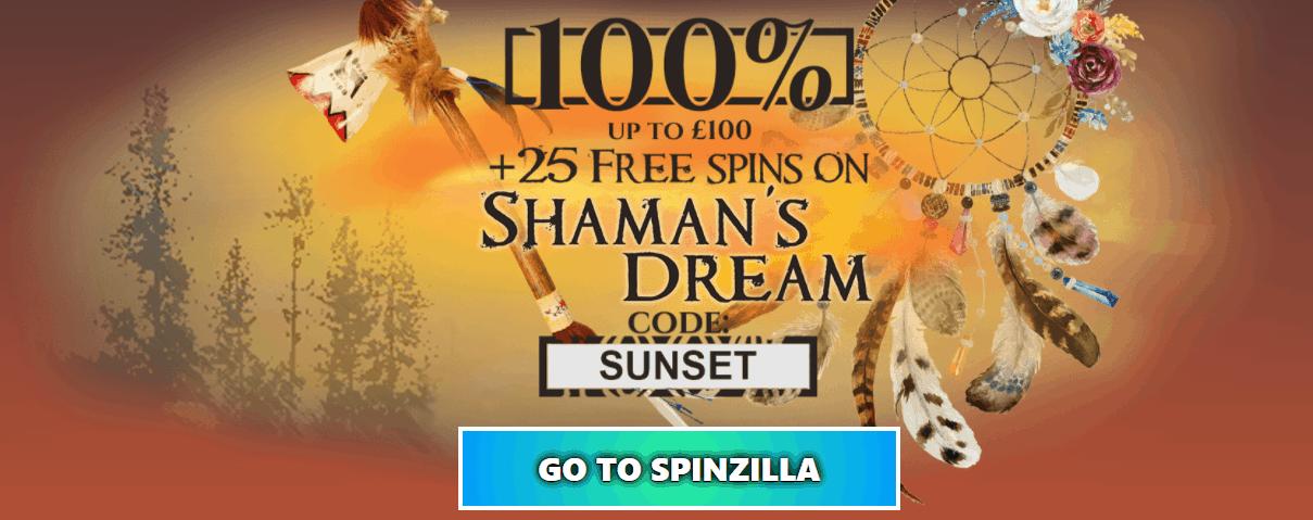 sunset casino promotion at spinzilla