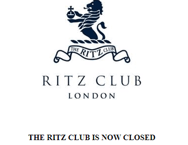 the ritz club front image closed