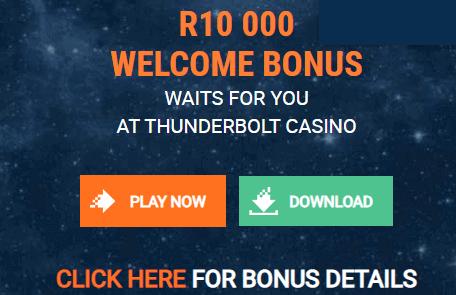 thurder bolt casino front image