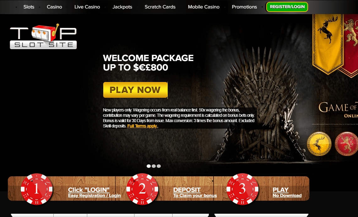 top slots site home