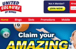 united colours of bingo front image