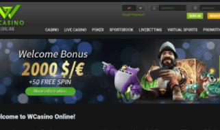 w casino front image