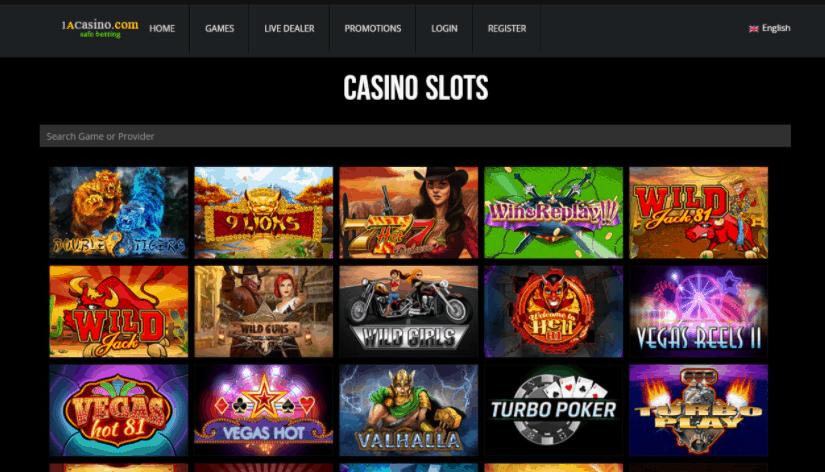 1a casino games