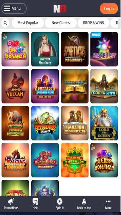 Casino NetBet game mobile