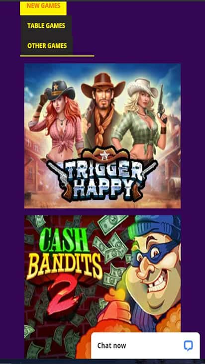 High Country Casino game mobile