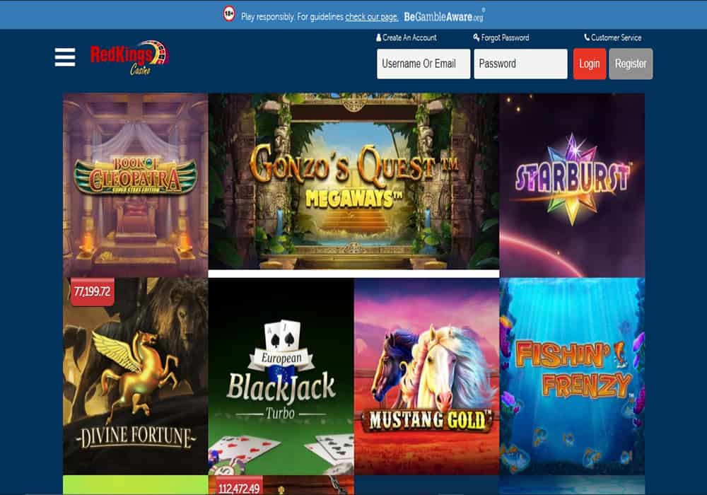 play ojo games page