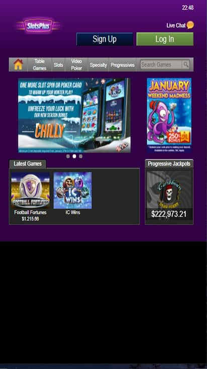 Slots Plus game mobile