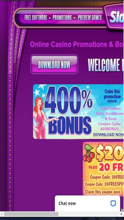 Slots Plus promo mobile